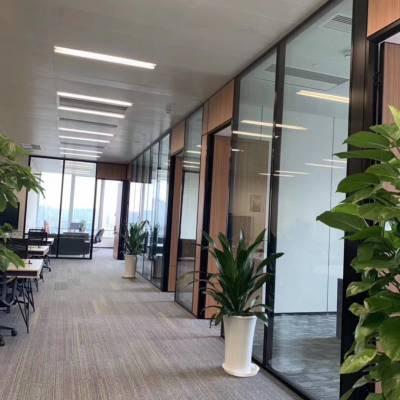珠海厂家生产办公室玻璃隔墙
