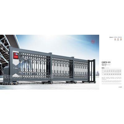 伸缩折叠门 电动伸缩分段门 伸缩门专业工业门