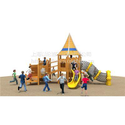 上海以伦游乐供应新款木质海盗船游乐设备YL18-18203淘气堡幼儿园课桌椅,玩具架,书架
