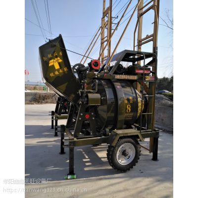 湖南汨罗鑫旺JG320搅拌加提升结构一体型搅拌设备
