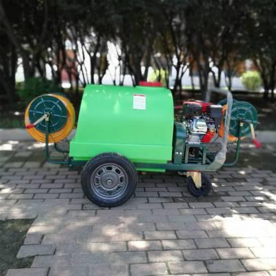 热销300升汽油机打药车 四轮可移动式喷雾器 高压耐用型