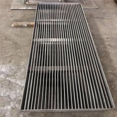 金聚进 方形不锈钢格栅盖板 市政工程不锈钢钢格板 按图加工