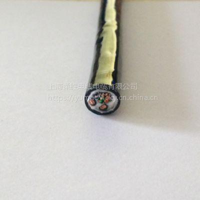 电源和网线组合的多芯综合电缆
