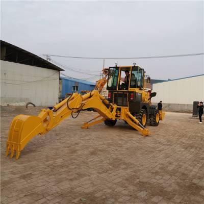 拖拉机两头忙拖拉机农用06小铲车前铲后挖厂家供应中首重工
