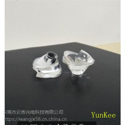 仿流明偏光透镜 地埋灯透镜 30度偏光15度led透镜厂家直销