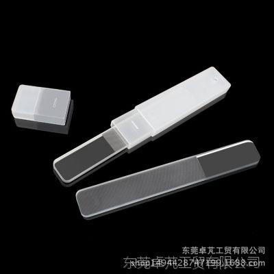 [定制生产]新一代韩国纳米水晶玻璃指甲锉抛光挫 优质纳米修甲器