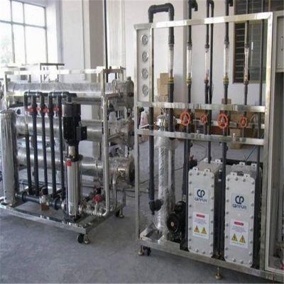 云南厂家采用二级反渗透EDI电除盐技术生产酒类生产白酒勾兑用超纯水设备找晨兴制造