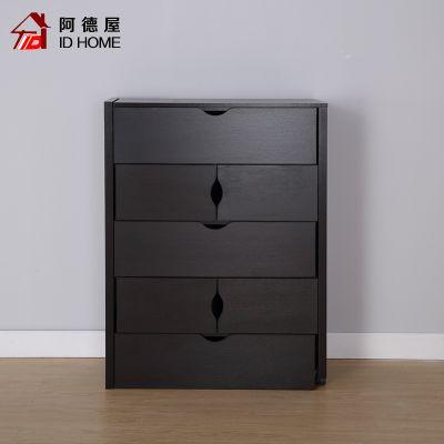 欧式五斗柜 多功能客厅收纳柜 可伸缩卧室储物柜