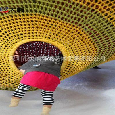 供应深圳市百货商场室内儿童攀爬彩虹网淘气堡游乐设备