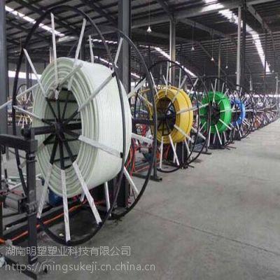 明塑厂家直销HDPE硅芯管非开挖顶管高速公路网络通信穿线管32 34 40 50 63