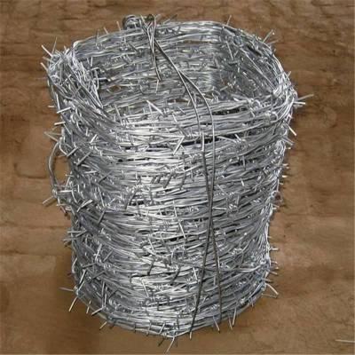沈阳刺绳护栏网 双股刺绳 带刺钢线