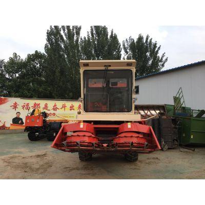 玉米秸秆青储机牧草苞谷高粱青贮机大型秸秆回收机