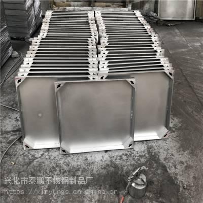 新云热销201不锈钢方形双层井盖 圆形井盖市政工程700*700