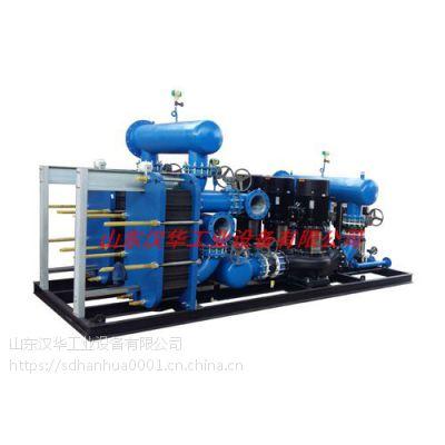 十年专业高效换热器及换热机组厂家(供暖供热,冷凝回收)