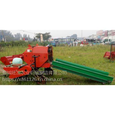 秸秆玉米杆打捆机 自动捡拾机 热卖稻草麦秆打圆捆机