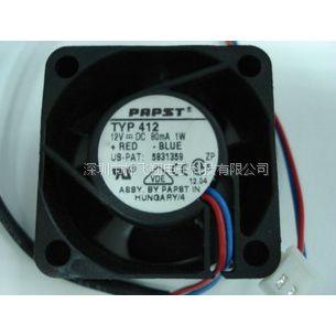 全新德国ebmpapst 4112 N/HP 12V 5.9W 12厘米耐高温散热风扇