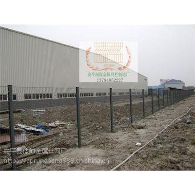 金山三角折弯护栏网直销、三角折弯护栏网、润程金属(在线咨询)