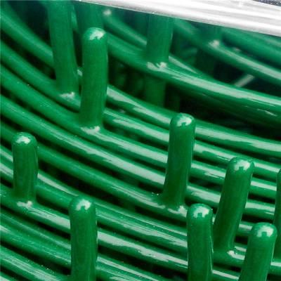 围栏网A辽宁防护围栏网A绿色1.5米高铁网围栏网