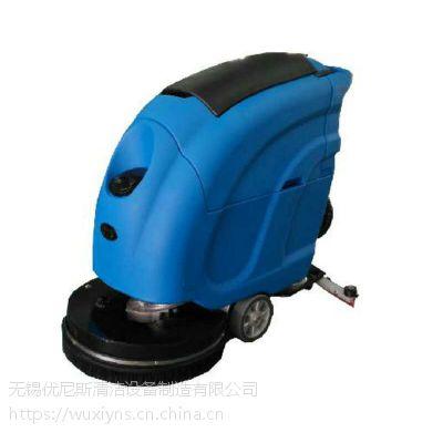 电子厂清洗专用手动洗地机