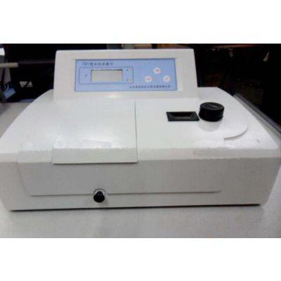 721型分光光度计 光谱仪 叶绿素含量的测定