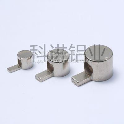 科进供应20 30 40 45系列铝材内置直角连接件,半轴,口哨半轴型材配件