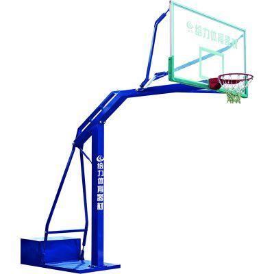 广东给力体育株洲篮球架可来图纸制作设计定做球架工厂