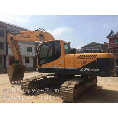 铜仁二手现代Z275-9挖机交易市场
