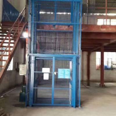 吊篮 厂房用的上货电梯 佛山大沥导轨固定式升降台厂家