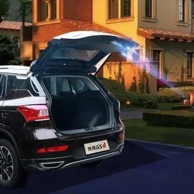 传祺GS4改装电动尾门,让您的驾驭体验增添一抹耀眼的传奇色彩