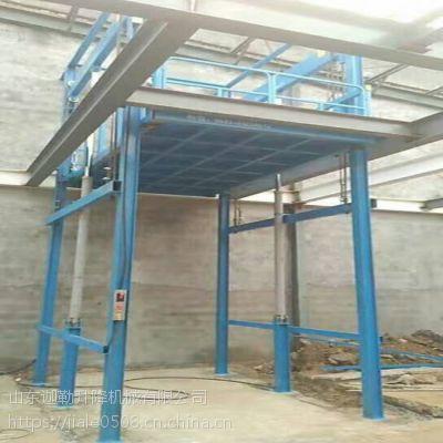 高品质供应吉林SJD0.3-4.5导轨升降货梯