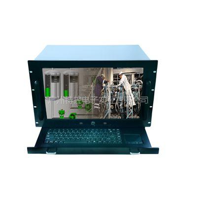 广州特控IPC-H1762RT 17寸屏工业一体化工作站/IP网络广播主机/工控机 可定制
