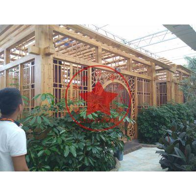 观光农业玻璃餐厅温室建造—青州瀚洋生态大棚