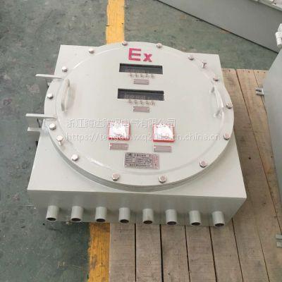 圆盖按键型温控仪表防爆箱 IIC 腾达定制防爆仪表控制箱