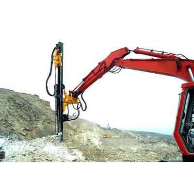 斗山挖掘机改钻机1液压钻1潜孔钻全国上门改装推介深凯建设