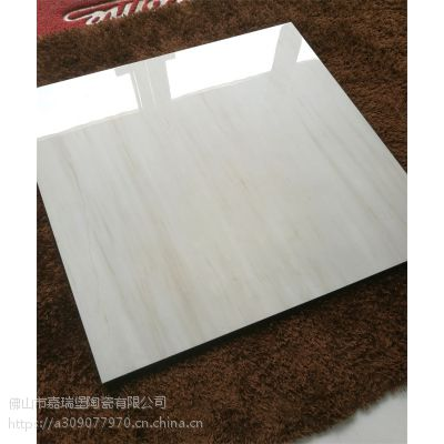 佛山瓷砖厂家直销800*800白色木纹金刚釉面砖客厅地板砖