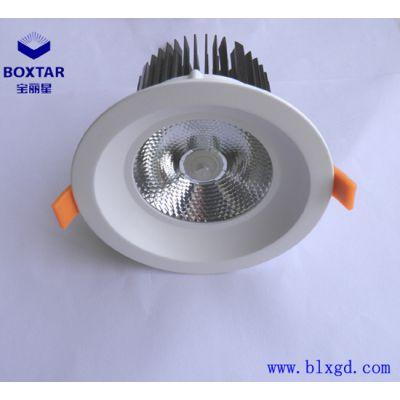 供应深圳BOXTAR宝丽星单颗100W超高亮LED筒灯