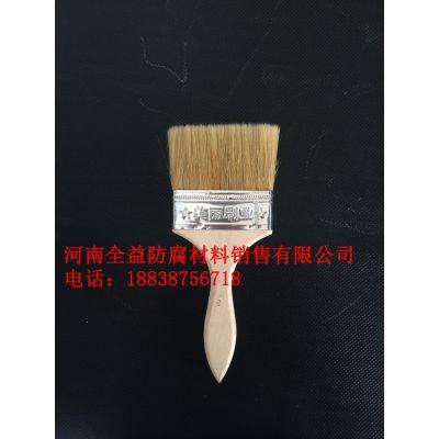 板刷 1寸 2寸 3寸 4寸 多种尺寸可定制 高档木柄刷 油漆刷 猪鬃刷丝不脱毛
