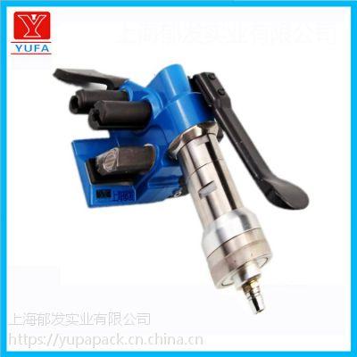 聚酯纤维带打包机手提式柔性带气动打包机10-32MM收紧器捆绑器