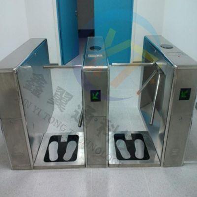 鑫翼通静电测试仪嵌入三辊闸机安装方案