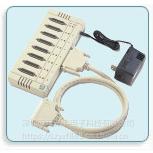 Opt8A RS-232接口 8个串口 DB25孔式连接盒 多串口盒 MOXA