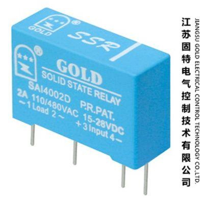 【小功率固态继电器】PCB单相固态继电器SAI6602D金属电镀设备适用 美国固特旗舰店