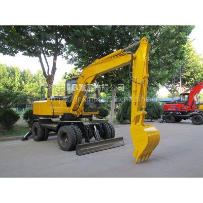 轮式挖掘机多少钱一台?山东轮胎挖掘机生产厂家