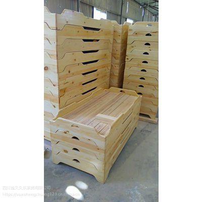 四川幼儿园家具批发实木重叠床