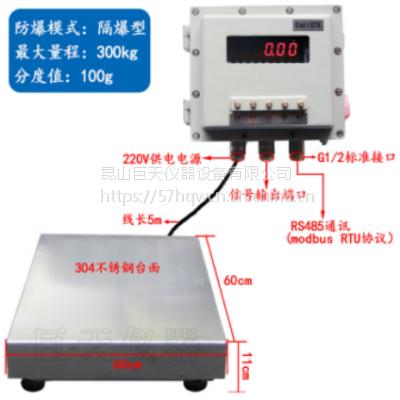 150公斤带modbus通信协议的称重防爆秤一台多少钱
