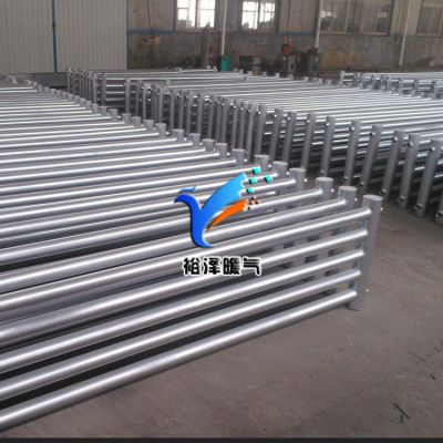 裕泽钢制光排管散热器 水暖家用暖气片 优质工业采暖光面管