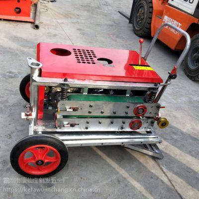 厂家直销【刻发】QYJ-7.5马力光缆牵引机 拉线机 全自动光纤线缆放线机 玻璃钢穿线地埋拉缆机