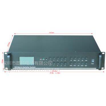 插卡式4k高清矩阵切换器 HDMI/dvi 4进16出定制 8进8出,16进16出等定制