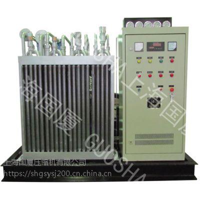 1.5立方大排量25兆帕空压机,管道锅炉耐压试验国厦空气压缩机