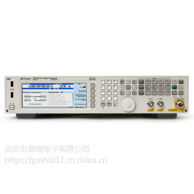 美国安捷伦N5172B EXG X 系列射频矢量信号发生器