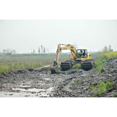 出租娄底大中型水路挖掘机,河堤修复